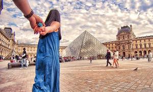 Cặp tình nhân Việt 'nắm tay đi khắp châu Âu'
