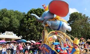 Thế giới cổ tích ở Hong Kong Disneyland