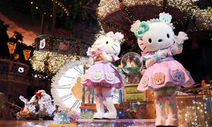 Thế giới mèo Kitty siêu dễ thương trong công viên giải trí Nhật Bản
