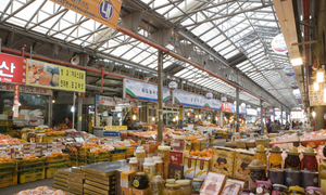 Những khu chợ truyền thống ở Hàn Quốc