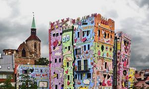 Ngôi nhà vui nhộn cho trẻ em ở Đức