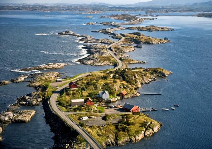 Con đường xuyên Đại Tây Dương nối liền các đảo