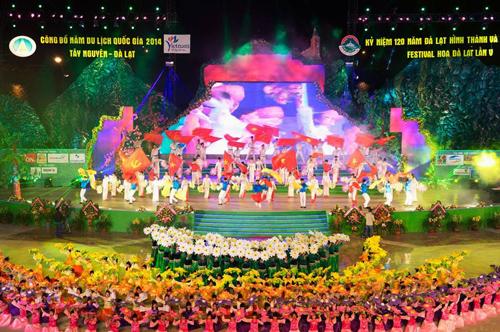 Festival Hoa Đà Lạt luôn là sự kiện được công chúng mong chờ. Ảnh: tintaynguyen