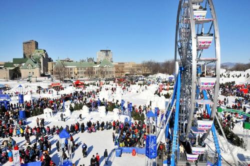Carnaval de Quebec thu hút rất đông du khách tới đây mỗi năm. Ảnh: seattlestravels