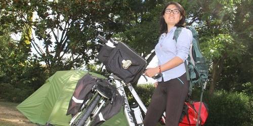 Zhang bộc bạch rằng chính con người New Zealand là lý do khiến cô có động lực tiếp tục lên đường và bày tỏ lòng cảm ơn tới toàn bộ những người đã giúp đỡ cô trên đường du lịch.