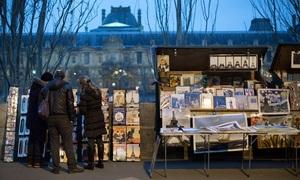 Những gian hàng sách đang dần biến mất ở Paris