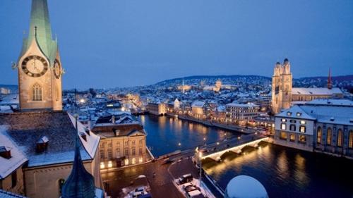 Zurich là thủ đô Thụy Sĩ?