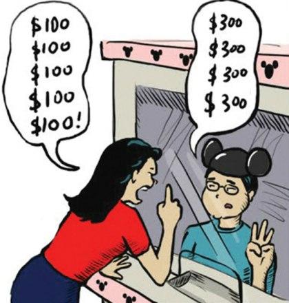 Không ngại mặc cả  Điều cần thiết khác khi bạn đi du lịch là không ngại mặc cả. Thông thường các du khách là nam giới có thể ngại trả giá nên họ thường mua sản phẩm đắt hơn và người bán cũng không tiếc ra giá cao. Còn phụ nữ nên lưu ý để có thể đưa ra giá phù hợp để có thể sở hữu món đồ ưng ý.  Ở một số nơi, bạn phải trả giá giảm 50-70% so với giá người bán, nhưng có nơi chỉ cần giảm 10-20%,& Nếu bạn không tinh ý sẽ rất dễ bị mua món hàng với giá trên trời và rơi vào cảm giác đang bị lừa.