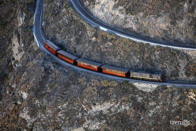 Tuyến đường sắt tử thần ở Ecuador
