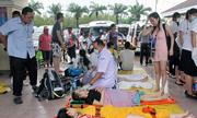 22 du khách thương vong sau tai nạn tàu ở Thái Lan