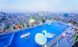 Xu hướng làm Pool Party trên tầng cao của giới trẻ