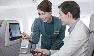 Những tiện ích trên chuyến bay của hàng không 5 sao