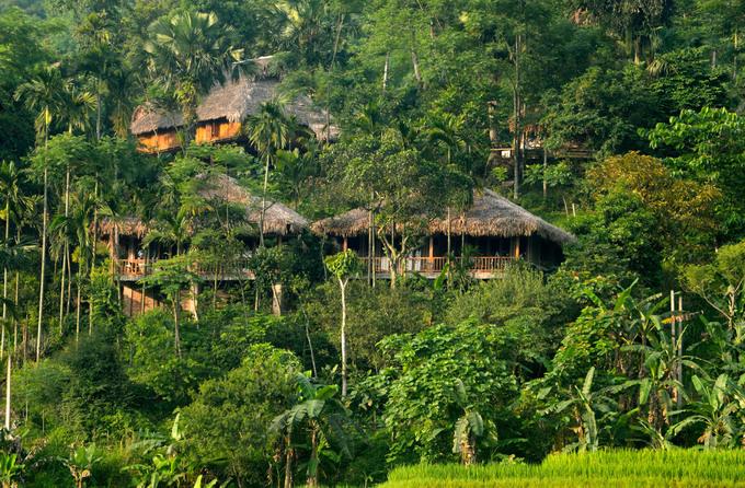 Resort hot nhất Pù Luông: Không tivi, điều hòa, đốt lửa trại