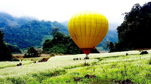 Ảnh: Moc Chau Ballooning