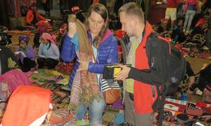 Sa Pa thí điểm chợ đêm để xóa nạn chèo kéo khách