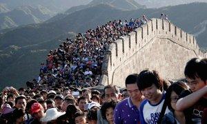 Trung Quốc đông đúc đến mức nào