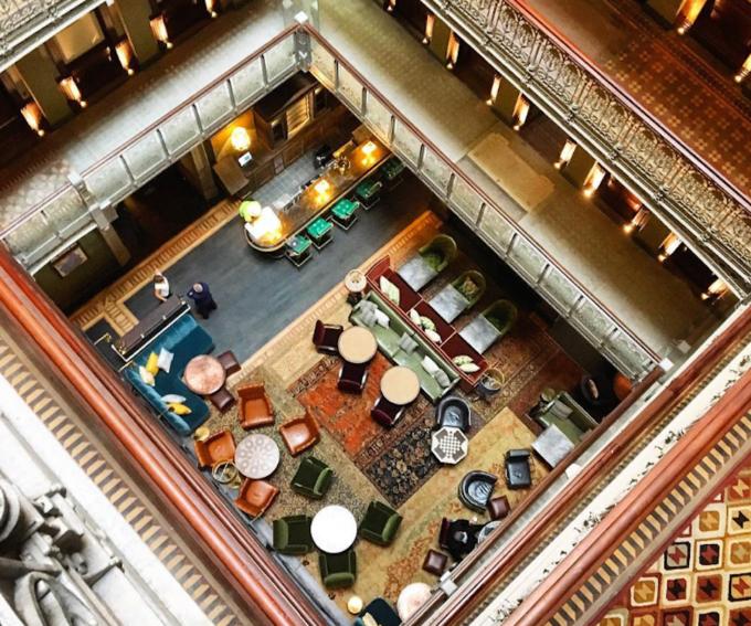 Tòa nhà bỏ hoang thành khách sạn sang trọng ở New York