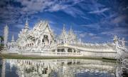 Đền Trắng ở Thái Lan thu vé với du khách nước ngoài