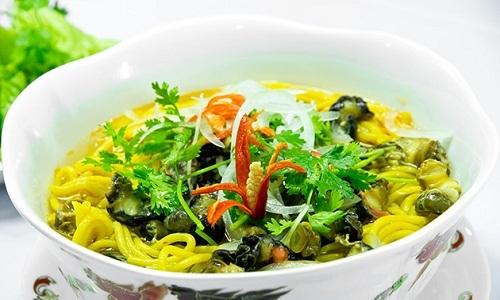 Món bún làm từ ngô chỉ có ở Phú Yên