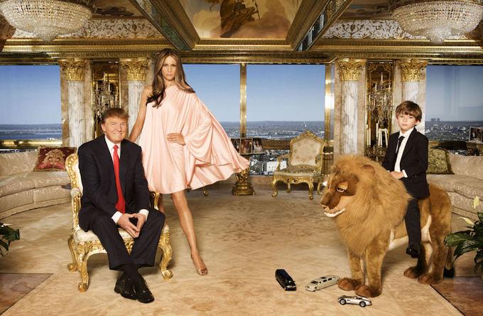 Bên trong dinh thự 100 triệu USD của Donald Trump ở New York