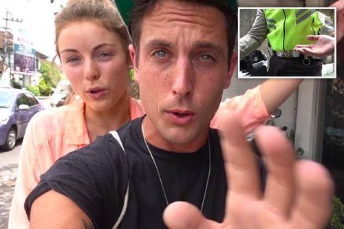 Hartman và bạn gái kể lại câu chuyện của mình rồi đăng lên Youtube. Ảnh: Youtube.
