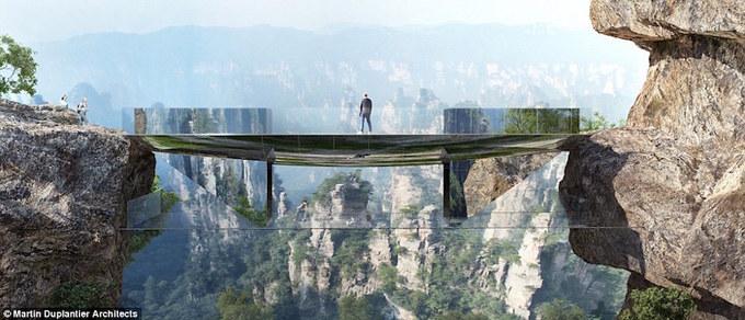 Trung Quốc dự kiến xây cầu 'tàng hình' độc đáo nhất thế giới