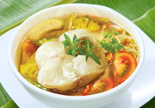 Canh cá chua là món ăn đặc trưng của ẩm thực Việt Nam