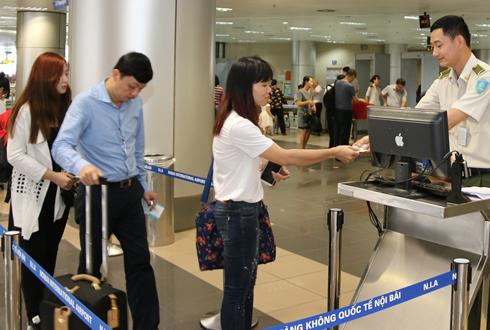 Ra nước ngoài đón Tết đang ngày càng phổ biến. Ảnh: Phương Linh.