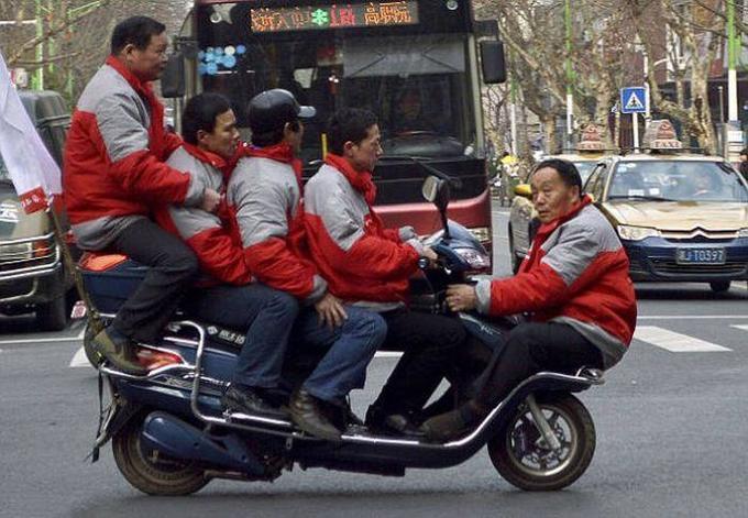 Những hình ảnh chỉ có trên đường phố Trung Quốc