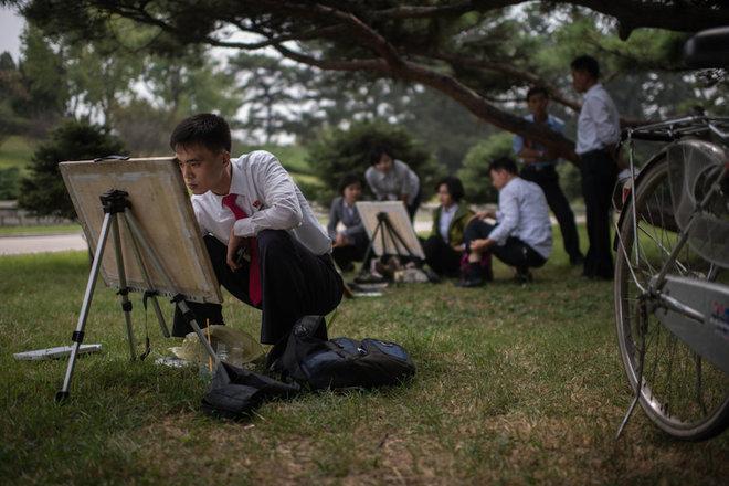 Cuộc sống Triều Tiên được thể hiện thế nào trên báo Mỹ