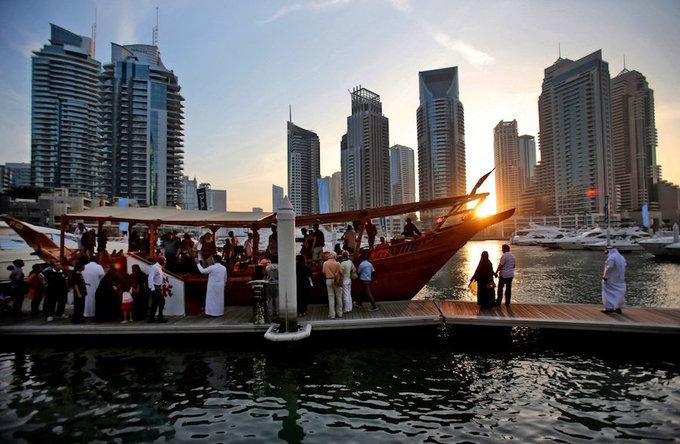 Cuộc sống của nhà giàu ở Dubai