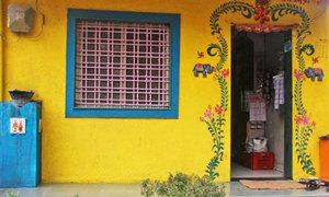 Nơi người dân tắm không có thói quen đóng cửa ở Ấn Độ