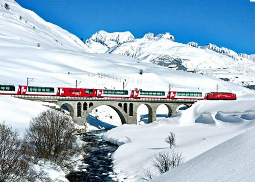Thụy Sĩ mở đường tàu riêng cho khách Trung Quốc về giải quyết vấn đề về khác việt văn hóa giữa các nhóm du khách. Ảnh: