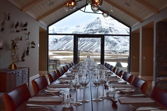 Khu nghỉ dưỡng giữa vùng đất băng giá