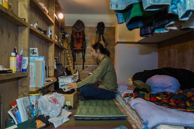 Bên trong những phòng trọ siêu rẻ tại Tokyo