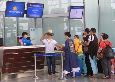 Vietnam Airline khai thác hơn 1.600 chuyến bay dịp lễ. Ảnh minh họa : Đ.Loan