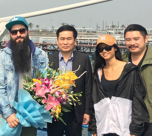 Đạo diễn phim Kong và nữ rapper Suboi