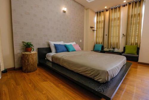 Home nhiều loại phòng cho các bạn lựa chọn như: phòng 4 giường, phòng 7 người và phòng đơn giành cho 2 người.