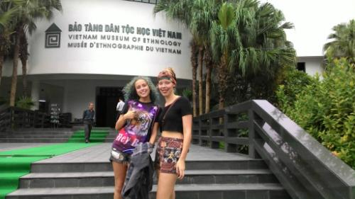 Bảo tàng Dân tộc học thường nằm trong top điểm đến yêu thích của khách quốc tế đến Hà Nội. Ảnh: Active Travel Magazine