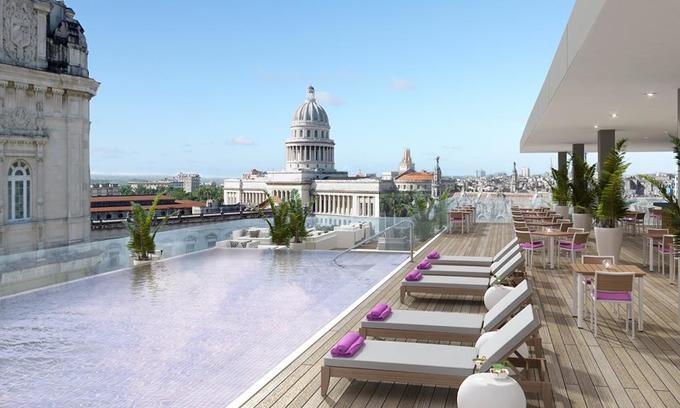 Khách sạn siêu sang đầu tiên ở La Habana