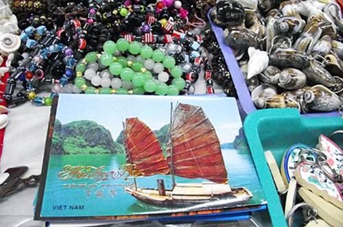 các sản phẩm thủ công mỹ nghệ đã trở thành vật phẩm lưu niệm đặc trưng của Việt Nam.