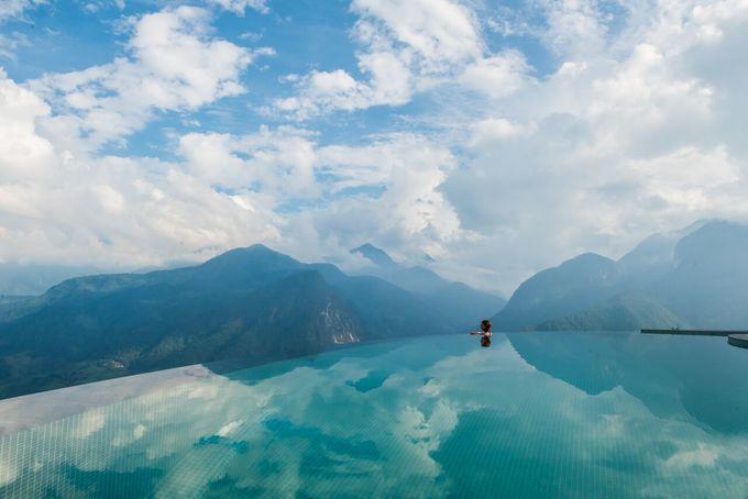 Bể bơi vô cực cao nhất Việt Nam