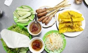 Quán bánh xèo 30 năm luôn đông khách ở Đà Nẵng