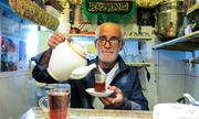 Quán trà nhỏ nhất thế giới ở Iran