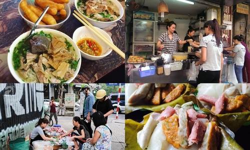 Năm quán vỉa hè lâu đời đông khách ở Hà Nội