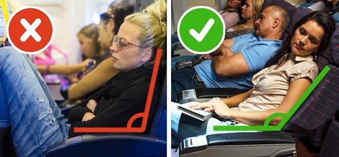 9 bí quyết để ngủ ngon trên máy bay