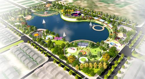 Công viên Thiên văn học trong Khu đô thị Dương Nội                                                             nơi diễn ra sự kiện Bữa tiệc ánh sáng mưa sao băng