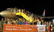 Khai trương đường bay quốc tế đầu tiên đi Chiang Mai