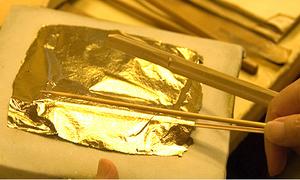 Thành phố làm ra 99% vàng lá ở Nhật Bản