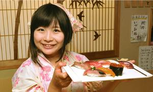 Nhà hàng sushi duy nhất ở Nhật chỉ có đầu bếp nữ